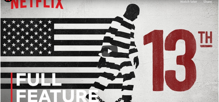 13th – An in-depth look at the prison system in the United States and how it reveals the history of racial inequality.